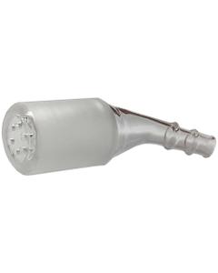 Zakrzywiony adapter ze szklanym sitkiem przeznaczony jest dla osób, które chcą poprawić ścieżkę przepływu pary w swoim waporyzatorze Arizer Extreme Q lub Arizer V-Tower.