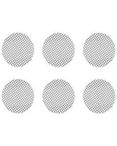 Dieser Satz kleiner grobmaschiger Siebe besteht aus 6 Sieben, der in den Crafty und Mighty Vaporizern sowie in Dosierkapsel-Adaptern passt