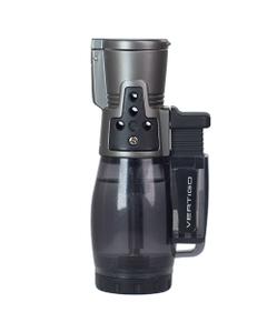 Το Vertigo Cyclone II Triple Torch είναι ένας οικονομικός αναπτήρας με φλόγιστρο με διαφανή θάλαμο καυσίμου.