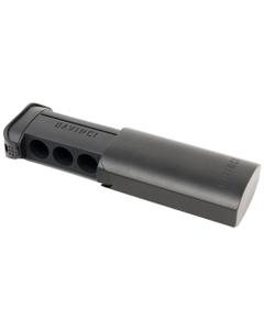 Schowek (pojemnik) na kapsułki dozujące ma taki sam kształt jak urządzenie DaVinci IQ i może przechowywać do 6 kapsułek dozujących.