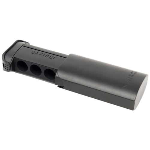 Držač je istog oblika kao jedinica DaVinci IQ i može pohraniti do 6 kapsula za doziranje.