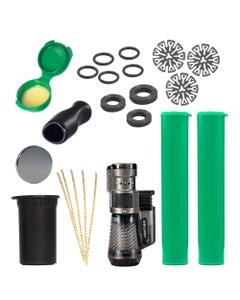 Deluxe DynaKit pro vaporizéry DynaVap má vše, co potřebujete pro udržení vašeho vaporizéru v nejlepším stavu.