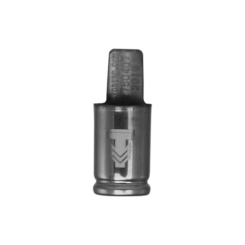 The DynaVap Low Temp. Captive Cap has a unique logo on it to differentiate it from the normal Captive Cap.