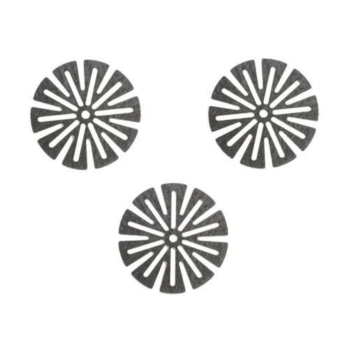 DynaVapin ruostumattomasta teräksestä valmistetut suojaverkot pitävät höyrysi puhtaana ja maukkaana.