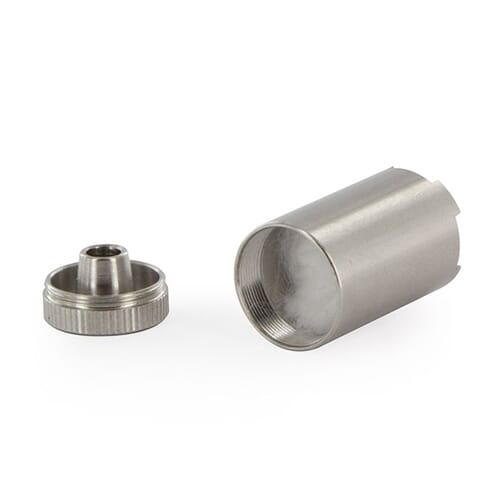 Tato kapsle na koncentráty se používá, když si přejete vaporizovat vosky a oleje se svým Flowermate vaporizérem