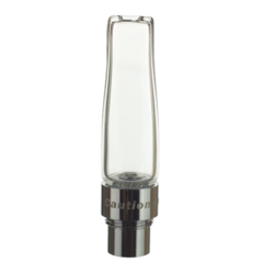 This Mouthpiece for the Flowermate V5.0S Pro is made of high-grade glass