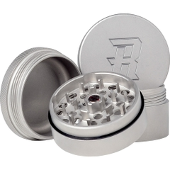 Der Herb Ripper ist ein 4-teiliger Edelstahl-Grinder aus 100% rostfreiem Stahl.
