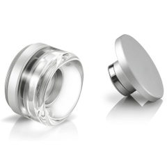 This set consists of a Glass Mouthpiece and an Aluminum Cover for the Hydrology 9