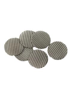 Deze Fijnmazige Gaasjes blokkeren zelfs de kleinste deeltjes van je materiaal om het damppad puur te houden. Bedoeld voor de IOLITE vaporizer