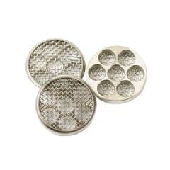 Diese Ersatzsiebe für die IOLITE Vaporizer passen in die Füllkammer und verhindern, dass Kräuterteile in das Mundstück gelangen