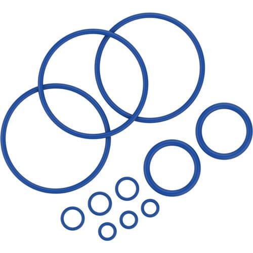 To Σετ Δαχτυλιδιών Σφράγισης περιλαμβάνει 11 δαχτυλίδια σφράγισης διαφόρων μεγεθών για τον ατμοποιητή Mighty