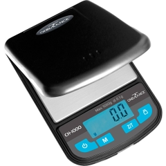 The On Balance Champion is a Pocket Scale that can weight up to 1000 g with 0,1 g accuracy
