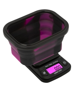 With the Silicone Bowl Scale from On Balance you never have to worry about spills when weighing again.