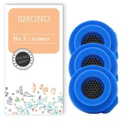 Zorg ervoor dat je damp altijd puur blijft door regelmatig de gaasjes te vervangen in je Smono 3 vaporizer