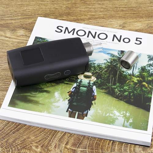 The Smono 5 vaporizer is designed in Germany.