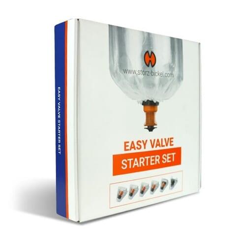Easy Valve Starter Komplekt on perfektne kui soovite vahetada Solid Valve süsteemi või lihtsalt uuendada oma Volcano aurustit