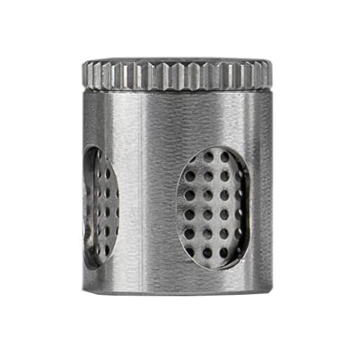 With the Steel Capsule for Herbs you can prepare loads for your Wolkenkraft vaporizer.